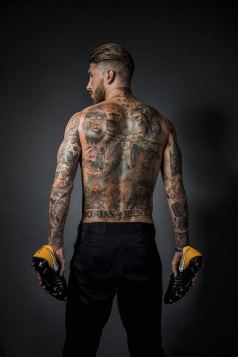 sergio ramos tattoos
