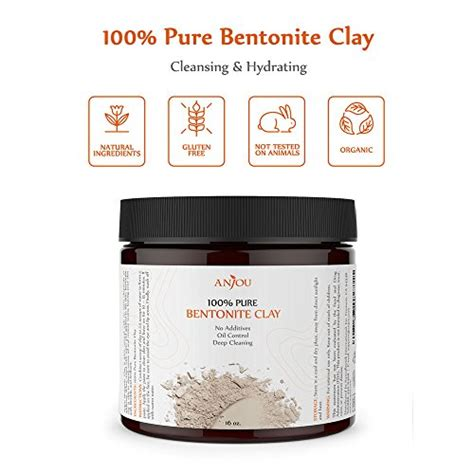Can You Detox With Sodium Bentonite Clay by Clay Mask 16 Oz Sodium Bentonite Clay Powder