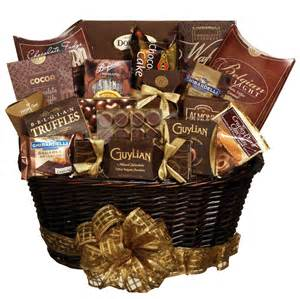 Chocolate Basket Danielle S Rockaway Florist Shop Here For Fruit And Gourmet Gift Baskets