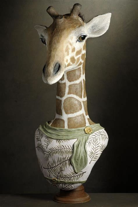 Make Animal Sculptures With Paper Mache Clay - 383 best sculpture papier mache images on