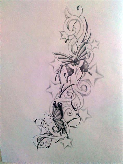 butterfly star tattoo designs best tattoo design