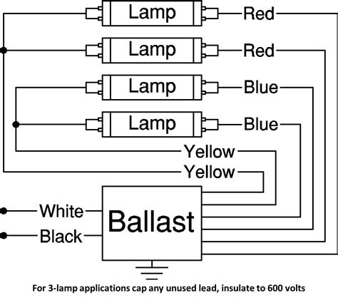 advance ballast wiring diagram also l t5 electronic
