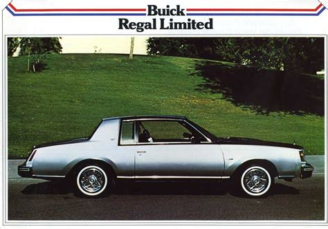 buick brochure 1981 buick regal brochure