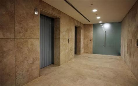 Travertine Elevator Interiors by Marble Wall Cladding Sydney From Prime Marble Granite