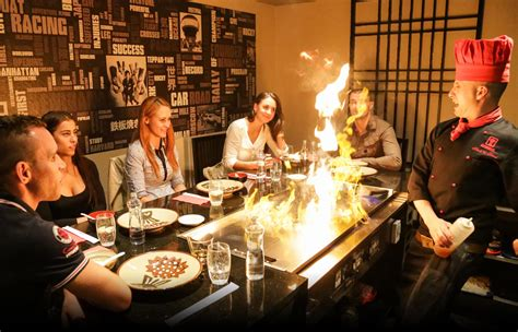 Experiences In Catering by Benihana Japanese Restaurant Bratislava