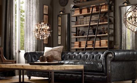 restoration hardware look alike sofa bohemchic smakfull industriinspiration