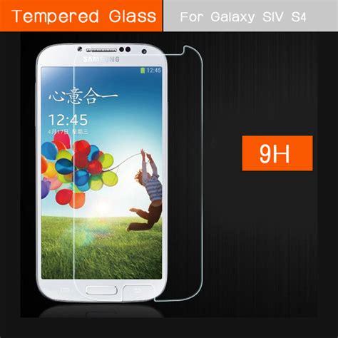 Tempered Glass Samsung Galaxy S4 I9500 Screen Protector Antigores aliexpress buy s4 siv premium tempered glass screen explosion proof protector for