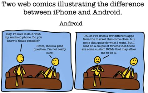difference between android and iphone the difference between android and iphone the sue