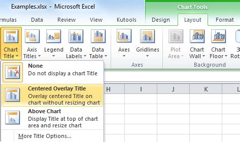 how to add titles to charts in excel 2016 2010 in a minute how to add a chart title in excel