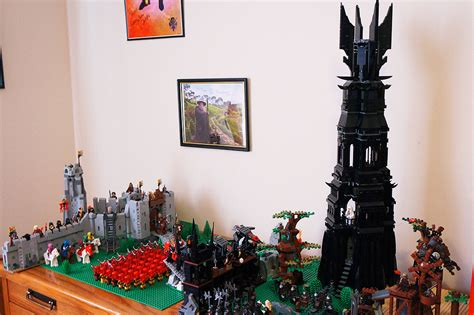 my lego lord of the rings hobbit collection by zaempera on deviantart