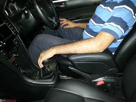 Console Box Arm Rest Suzuki Ertiga diy armrest installation in the maruti team bhp