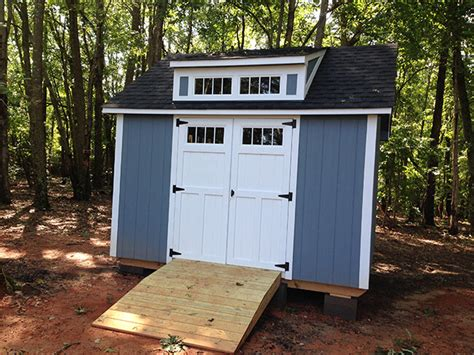 Shed Dormer Roof Pitch Custom Shed Idea Gallery The Shed Depot