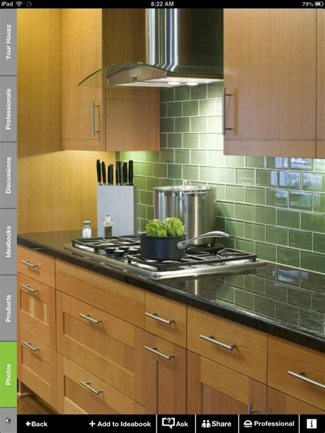 green tile kitchen backsplash 19 best images about glass tile backsplash on