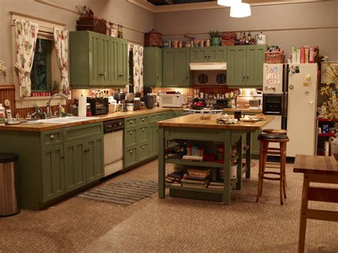 abc tv kitchen cabinet braverman house tour parenthood nbc