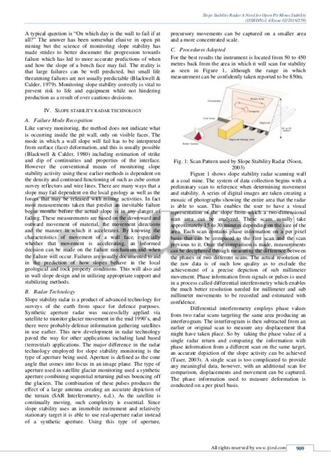 slope stability radar slope stability radar a need for open pit mines stability