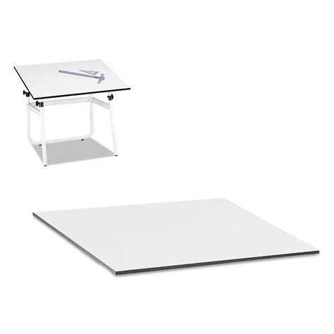 Drafting Table Top Drafting Table Top Rectangular 48w X 36d White Ebay