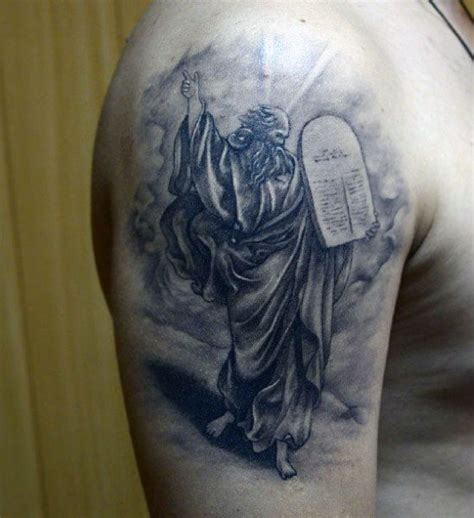 10 commandments tattoo 100 christian tattoos for manly spiritual designs