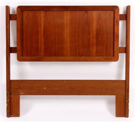teak headboard mid century modern danish teak twin headboard