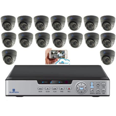 camerasysteem draadloos buiten camerasysteem 16 kanaals zwart