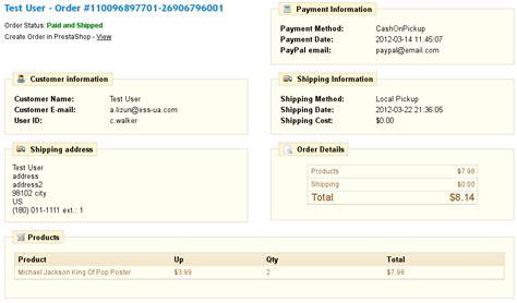 ebay orders prestabay prestashop ebay integration view ebay order