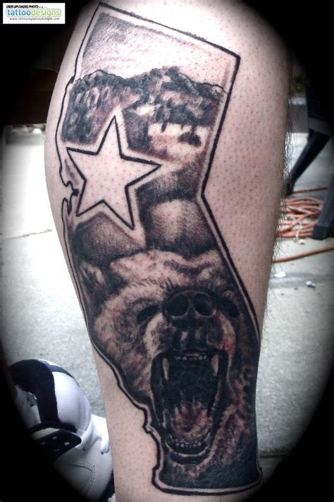 california bear tattoo 40 best california state images on