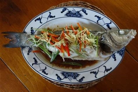 new year whole fish recipe cantonese steamed sea bass recipe