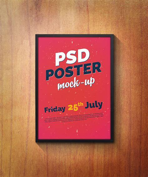 design poster psd poster mockup psd