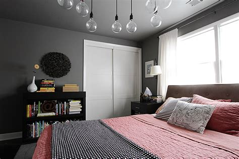 dark gray room the bedroom s mini makeover making it lovely