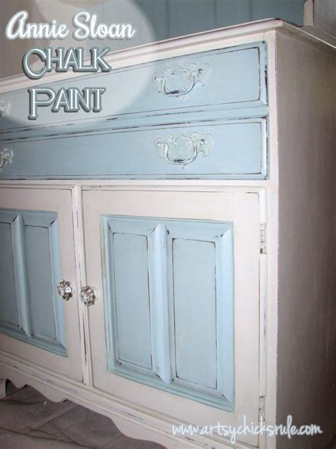 annie sloan chalk paint kitchen cabinets quotes dated 70 s hutch transformed into a coastal shabby