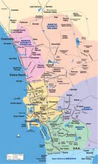 Map San Diego County by Neighborhoods Use Interactive Map Or List For Easy Access