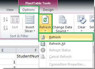 Refresh A Pivot Table by How To Refresh Pivot Table When Data Changes In Excel