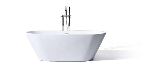 bathtub freestanding modern vitale acrylic modern freestanding soaking bathtub 59