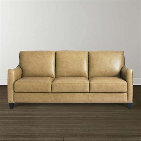 bassett sofa bassett 3960 62ls bennet sofa discount furniture at