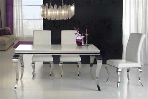 mesa comedor diamond acero diseno italiano  la decoracion integral de ambientes modernos