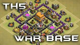 Th5 war base 2016 must use youtube