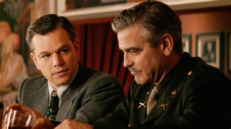 george clooney and matt damon the monuments trailer 2 2013 george clooney matt