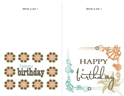 Anniversary Card Word Templates by Birthday Card Template Word Shatterlion Info