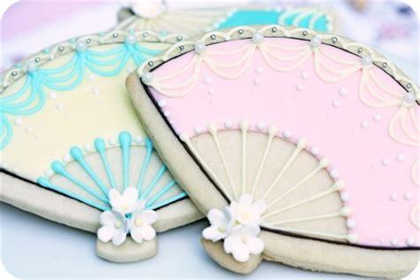 Cookies Fans tea decorated cookies sweetopia