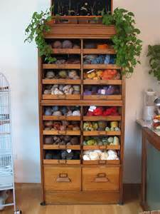 Yarn Storage Cabinets 13 In 2013 Yarn Storage Solutions Craft Storage Ideas