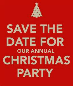 save the date christmas party december 3rd crossfit