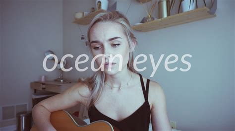 billie eilish ocean eyes ukulele chords ocean eyes billie eilish cover by alice kristiansen
