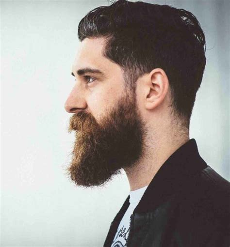 images of long beard short haircut 12 short hairstyles with long beard for rugged manly look