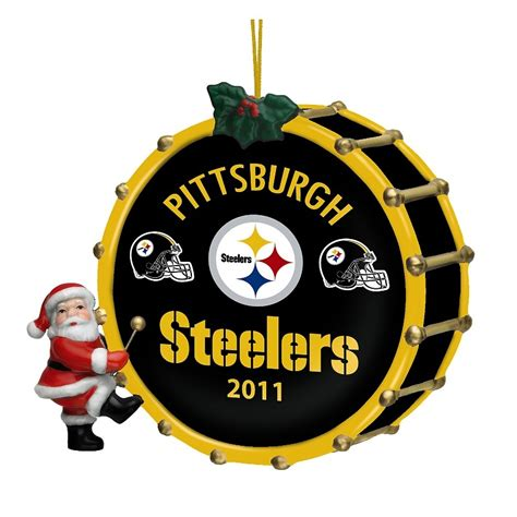 2011 annual pittsburgh steelers ornament the danbury mint