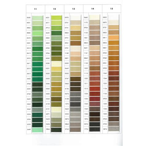 thread color chart thread isacord color chart isacord thread colour chart