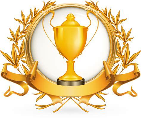 free vector がらくた素材庫 金銀銅に輝くトロフィー golden silver bronze