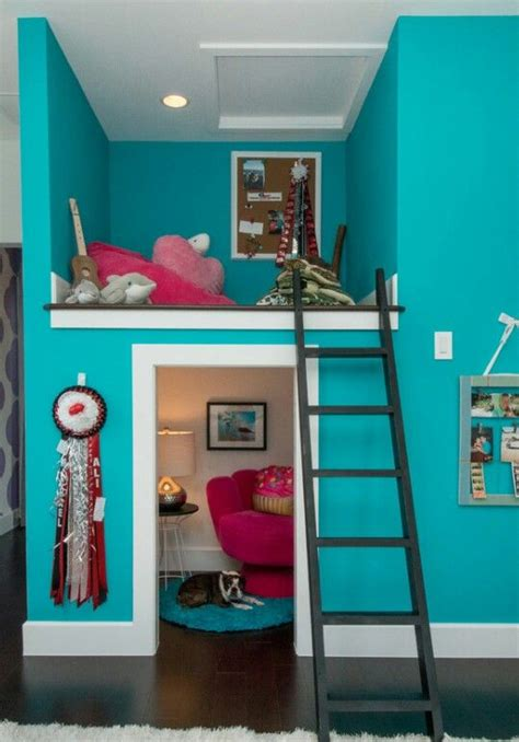 bedroom lofts for teenage great use of space kids rooms pinterest beautiful