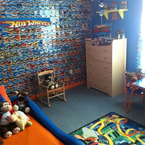 Hot Wheels Bedroom Decor | hot wheels kids room bedroom ideas for lil man