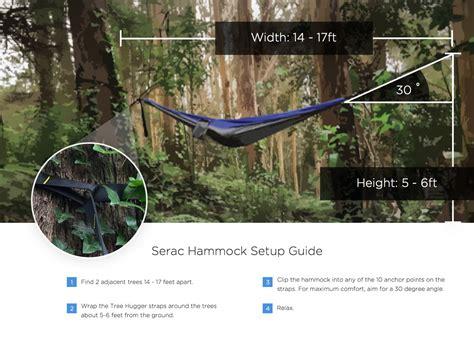 One Tree Hammock Setup cing hammock setup serac hammocks
