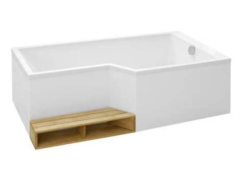 bain neo baignoire bain version droite 160