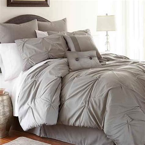 king size comfort set ella platinum eight comforter set pacific